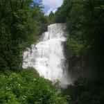 cascade du herisson Jura
