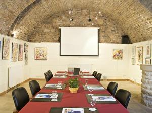 salle séminaire de l'hôtel Charles Sander dans le Jura pour vos évènements professionnels : conférence, débats, incentive, groupe de travail...