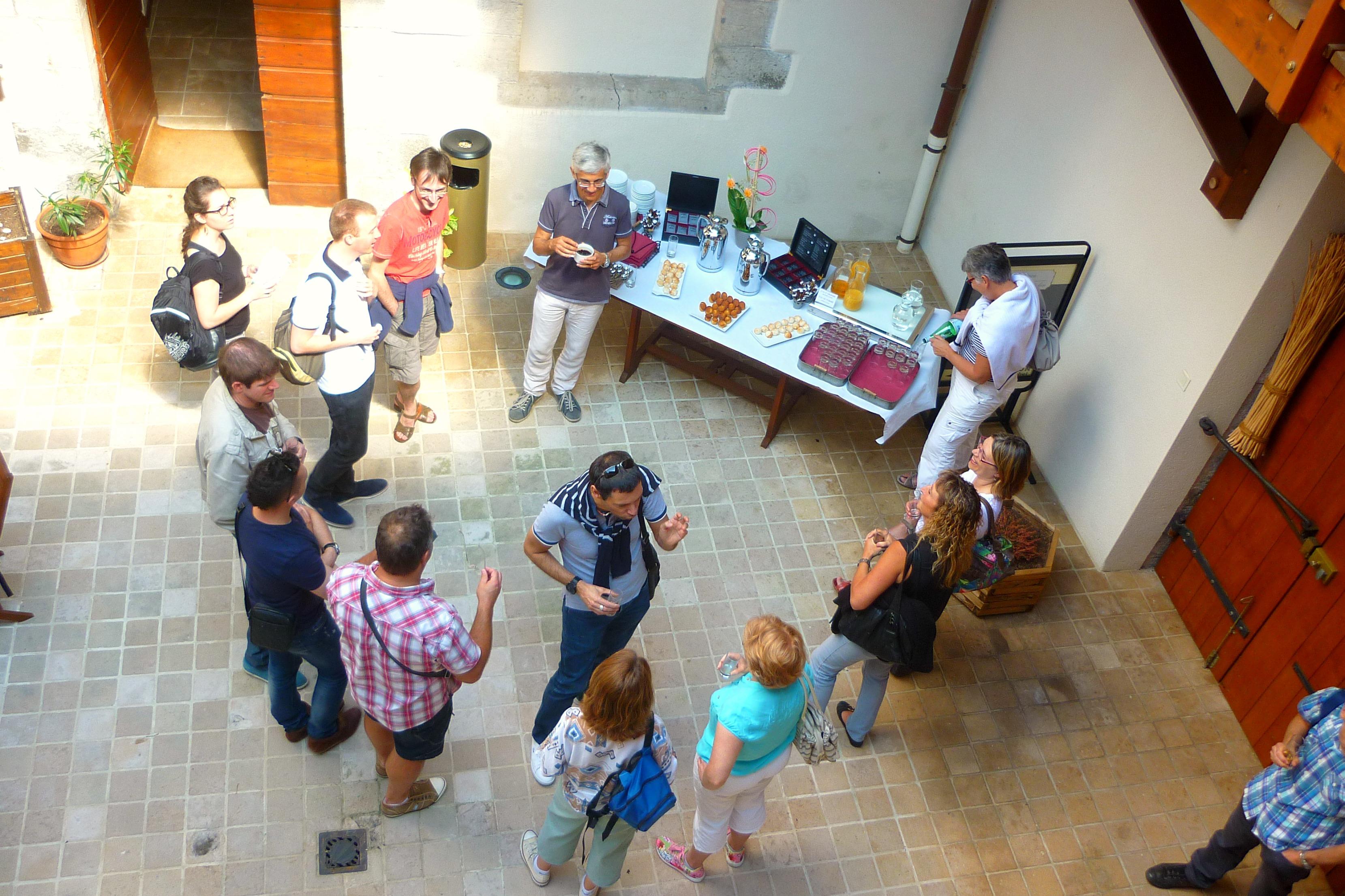 Pause séminaire hotel Charles Sander, Salins les Bains dans le Jura