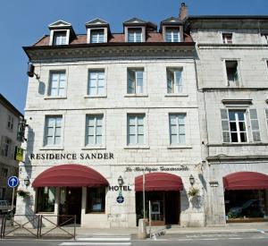 Hôtel Charles Sander, salins les bains jura, ville thermale, casino et sprots de plein air, région viticole