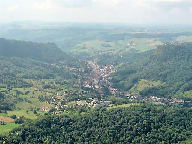 salins les Bains et la vallée de la furieuse, dans le Jura