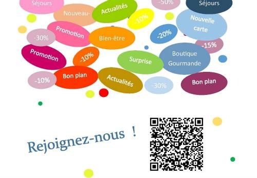 Facebook rejoignez-nous hotel restaurant des Deux Forts hotel Charles Sander boutique Gourmande épicerie fine, Salins les Bains, Jura