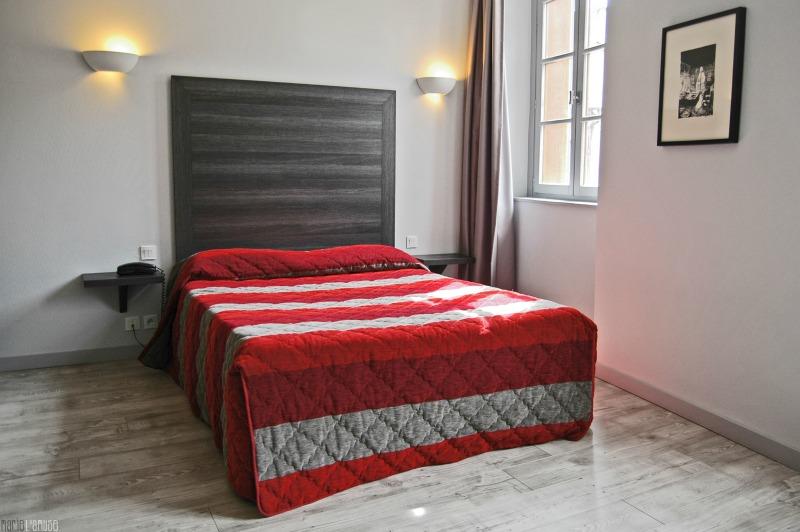 Une chambre double Hôtel des deux Forts Jura